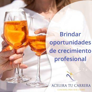 Brindar oportunidades de crecimiento profesional